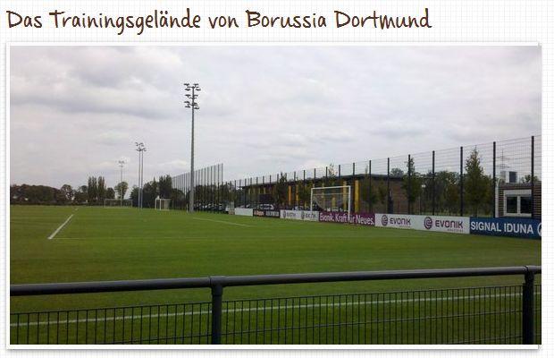 Trainingsgelände Borussia Dortmund BVB Brackel