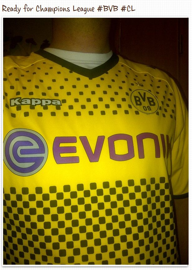 Trikot Borussia Dortmund Champions League Arsenal London