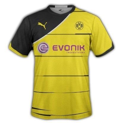 Trikot Borussia Dortmund Puma Saison 2012 2013