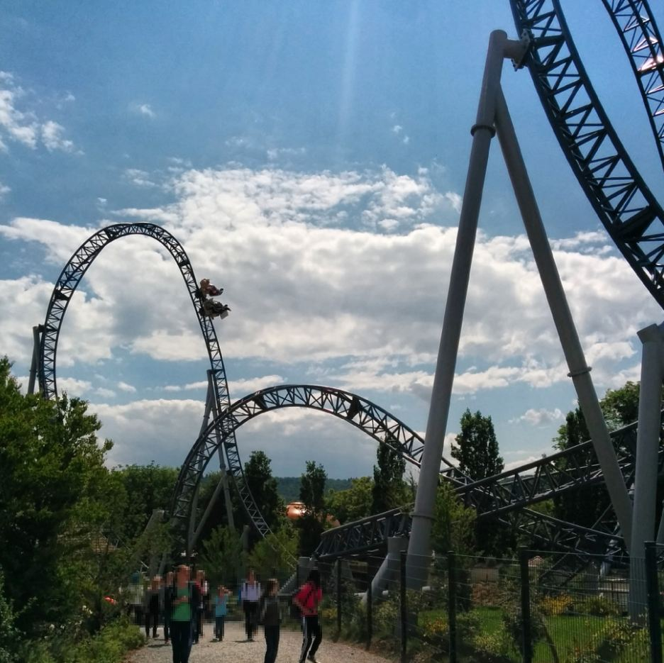 Tripsdrill Erlebnispark Karacho Achterbahn Heilbronner Land WanderSüden