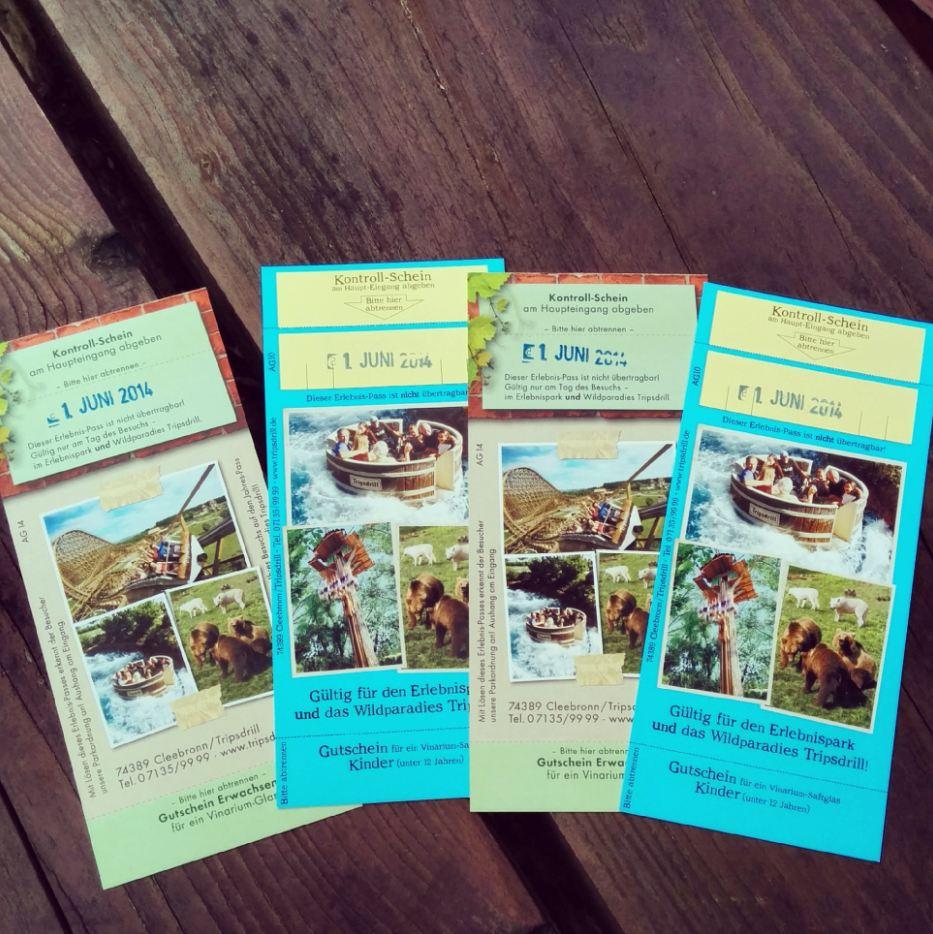 Tripsdrill Erlebnispark Tickets Wildparadies Heilbronner Land WanderSüden