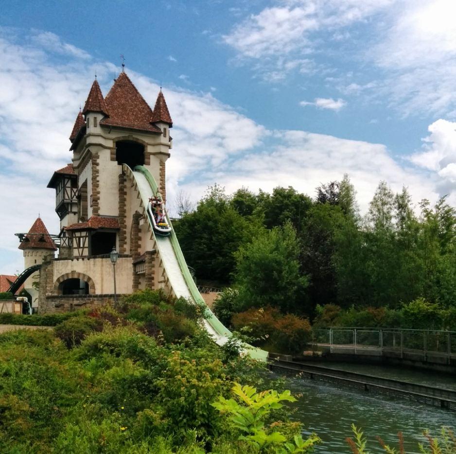 Tripsdrill Erlebnispark Wildwasserbahn Heilbronner Land WanderSüden