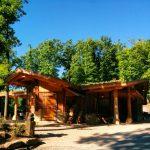 Tripsdrill Wildparadies Wildsau-Schenke Außenansicht Heilbronner Land WanderSüden
