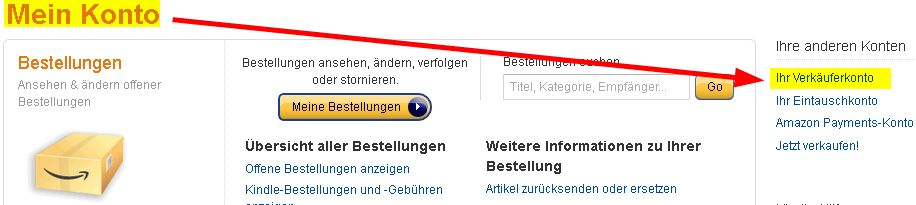 Tutorial Amazon Marketplace Konto pausieren Urlaub