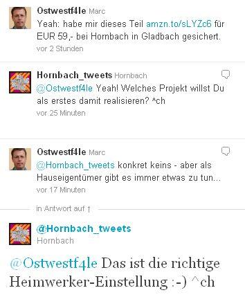 Twitter Bosch PBH 2000 SRE Borhammer amazon Hornbach Konversation