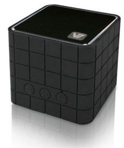 V7 SP5000-BT-BLK-9EC Mobiler Bluetooth Cube Lautsprecher