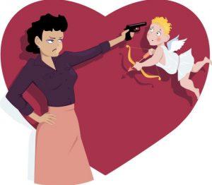 Der Anti Valentinstag Gluck Im Spiel Pech In Der Liebe Ein