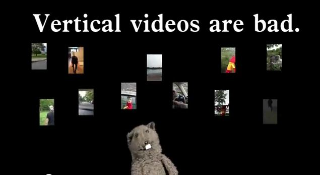 Vertical Video Syndrome YouTube Video