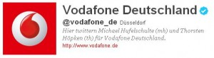 Vodafone Twitter