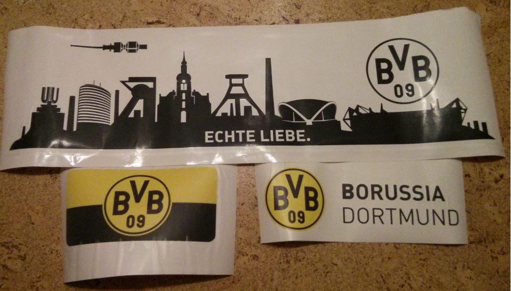 Wand-Tattoos BVB Borussia Dortmund Wall Art K&L