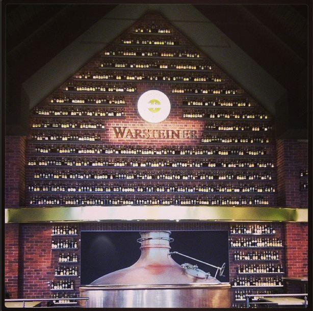 Warsteiner Brauerei Besichtigung Besucherzentrum Eingang Museum Kessel Flaschen