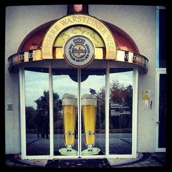 Warsteiner Brauerei Besichtigung Besucherzentrum Eingang