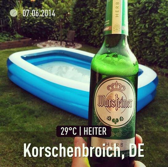 Warsteiner Herb Pool Pfingsten