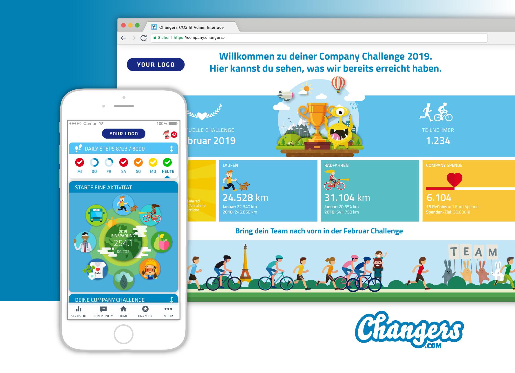 Webseite Changers.com