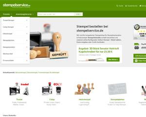 Webseite stempelservice.de