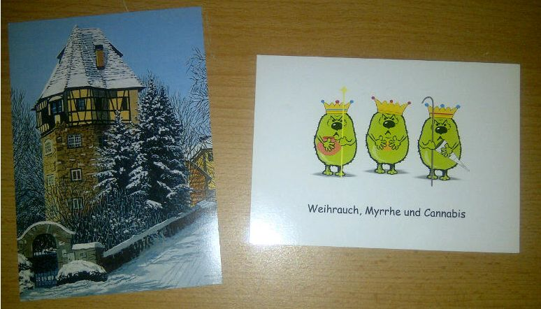 Weihnachts Postkarten Blogparade 2011