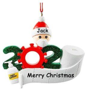Weihnachtsbaumschmuck 2020 Ornament Quarantäne zu Hause