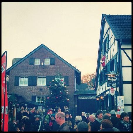 Weihnachtsmarkt Liedberg Niederrhein historisches Dorf 2013