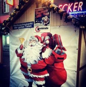 Weihnachtsmarkt der guten Taten Düsseldorf Nordstadt 2012 Weihnachten