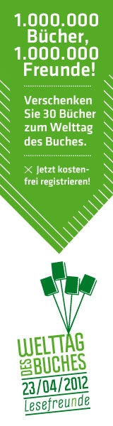 Welttag des Buches 2012 Aktion Lesefreunde Logo