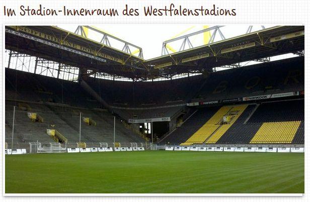 Westfalenstadion Innenraum Dortmund Borussia Führung