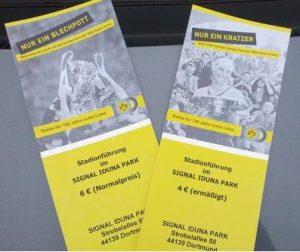 Westfalenstadion Innenraum Tickets Dortmund Borussia Führung