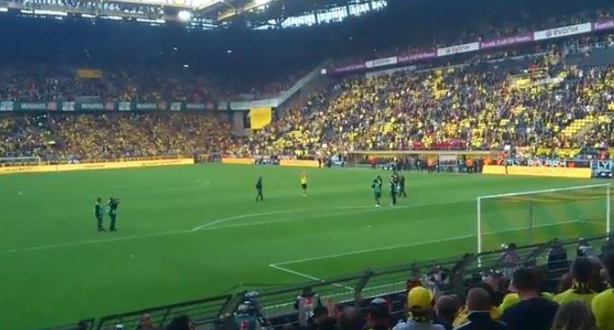 Westfalenstadion verabschiedet Robert Lewandowski Screenshot