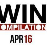 Win-Compilation im April 2016