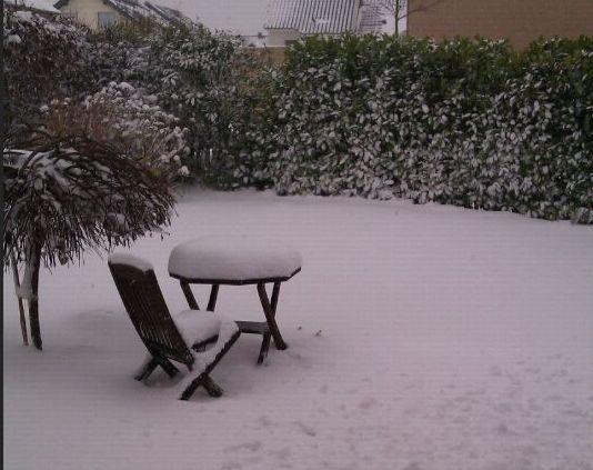 Winter Schnee Dezember 2012 Rheinland Kleinenbroich