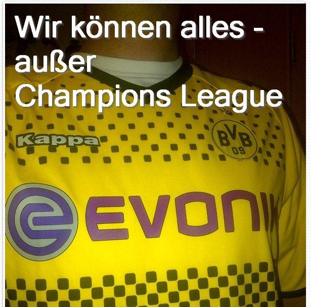 Wir können alles - außer Champions League Borussia Dortmund BVB