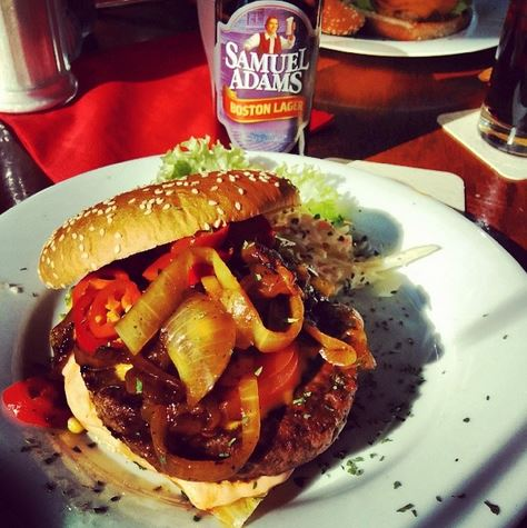Woodpecker´s Roadhouse Bottrop Burger