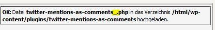 WordPress Plugin löschen nach Update Tutorial Anleitung editieren erledigt