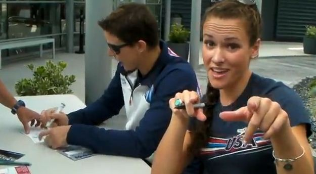 YouTube Call Me Maybe - 2012 USA Olympic Swimming Team
