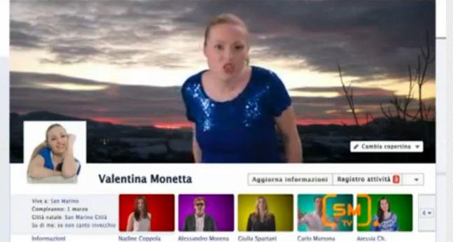 YouTube Ralph Siegel Facebook uh oh oh Valentina Monetta San Marino ESC 2012