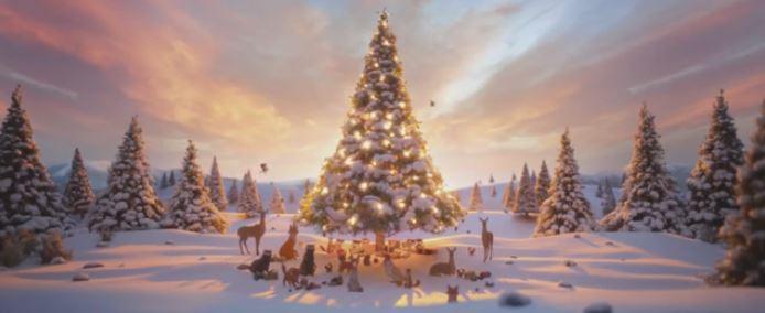 YouTube Screenshot John Lewis Christmas Advert 2013 - The Bear & The Hare