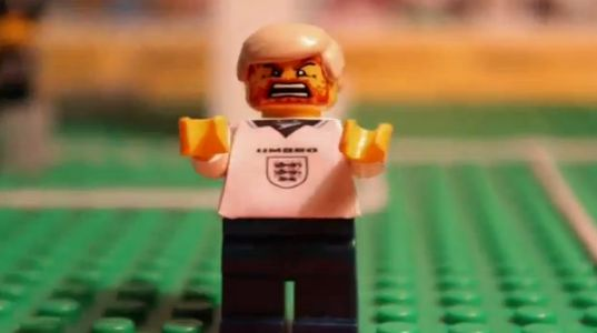YouTube Video EM Euro Lego England