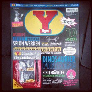 Yps 1 2012 Urzeitkrebse Cover