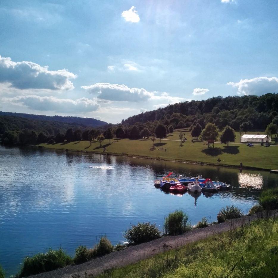 Zaberfeld Naturpark Stromberg Heuchelberg Badesee Ehmetsklinge Heilbronner Land WanderSüden