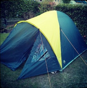 Zelt Camping Garten