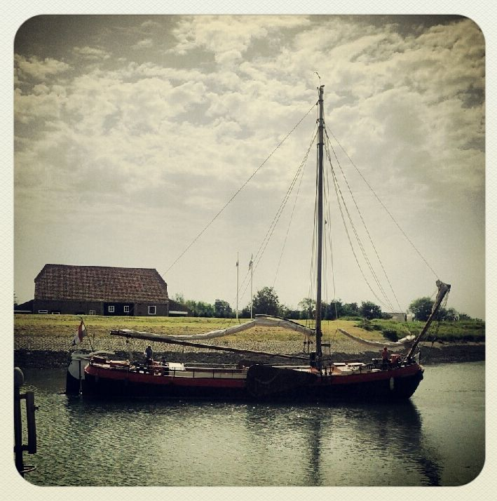 Zierikzee Zeeland Holland Niederlande Segelschiff Scaldis Hafen