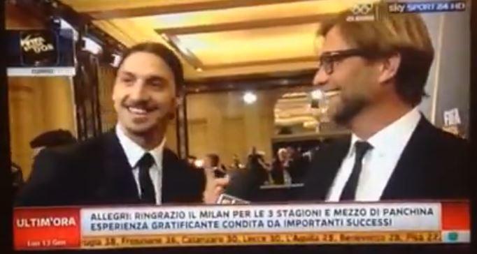 Zlatan Ibrahimovic & Jürgen Klopp Ballon d´Or