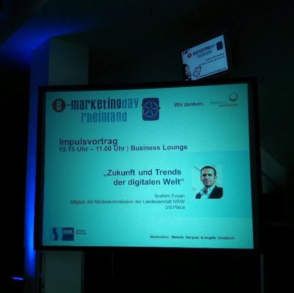 e-Marketingday 2013 Impulsvortrag Ibrahim Evsan# Mönchengladbach BorussiaPark.png