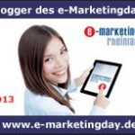e-Marketingday Logo Blogger 2013 Mönchengladbach IHK Rheinland