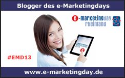 e-Marketingday Logo Blogger 2013 Mönchengladbach IHK Rheinland