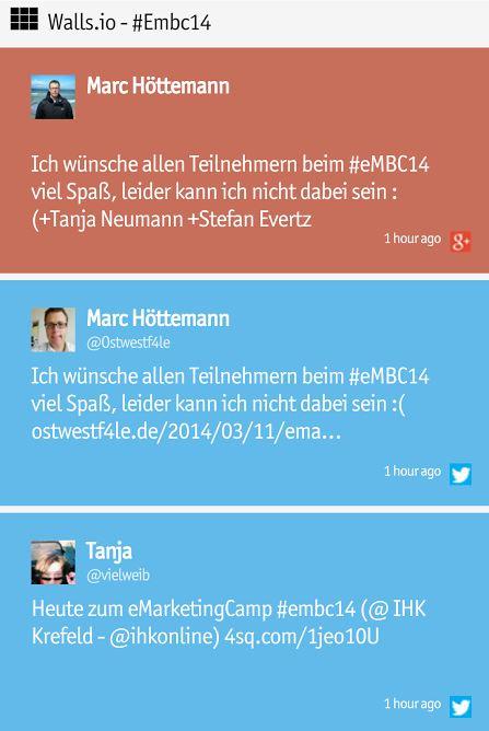 #eMBC14 eMarketingCamp 2014 Krefeld IHK Mittlerer Niederrhein
