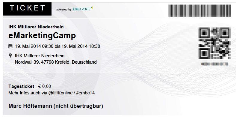 eMarketingCamp Krefeld IHK Mittlerer Niederrhein 2014