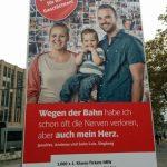 #ehrlichNRW Plakat Düsseldorf Konrad Adenauer Platz