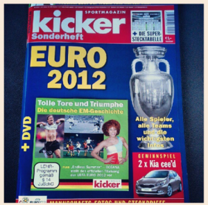 kicker Sonderheft Euro 2012