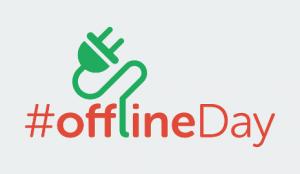 #offlineDay Logo