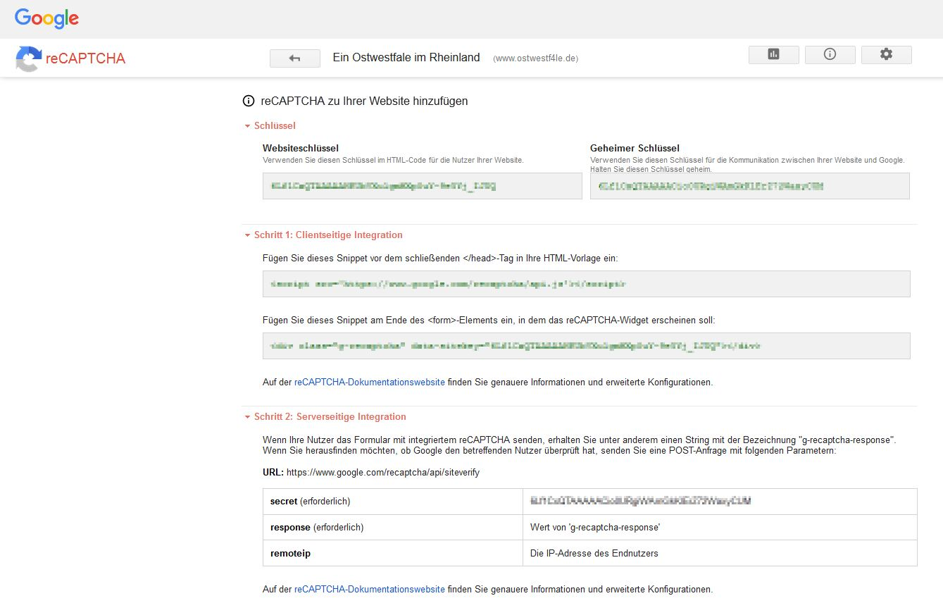 reCAPTCHA Einfach für Menschen, schwierig für Bots Registrierung Webseite